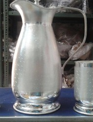 White Metal Jug