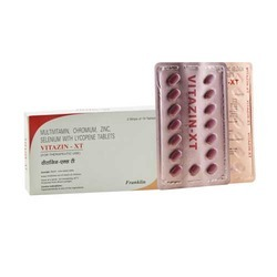 Multivitamin Chromium Zinc Selenium with Lycopene Tablet