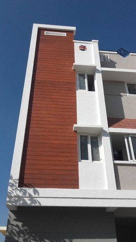 Shera Wood Elevation : Fibre cement plank century ply at rs square feet