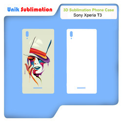 3d Sublimation Mobile Case Cover For Sony Xperia T3