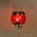 Glass Hanging Lantern
