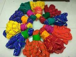 Party Wear Chiffon lehriya saree