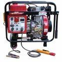 GE-3P-W8000D Portable Diesel Welder Generator