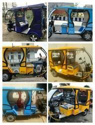 CITY LIFE Battery Operated Rickshaw