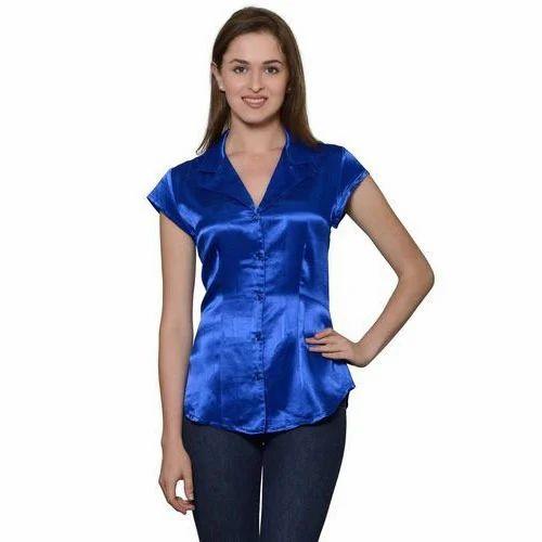 cafbf63f4e579 Silk Ladies Shirt