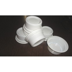 Solution packing White Disposable Curd Cups, for Event and Party Supplies