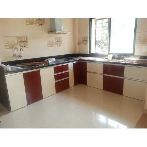 l shaped modular kitchen cabinets l shape modular kitchen at rs 50000 s एल आक र क 22430