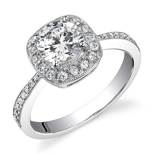 Real Wedding Rings | Sheetal Diamonds Wedding Party Sparkling Real Diamond Ring Size