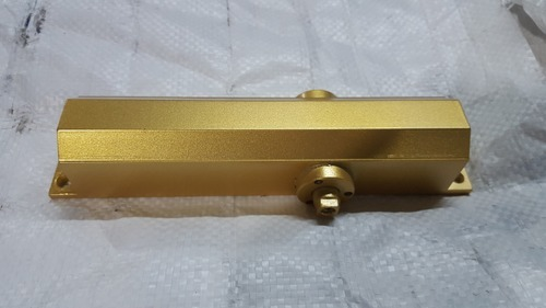 Gold Dorma door closer complete with cover