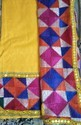 Yellow Dark Phulkari Suit Material