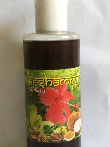 Hair Care 500ml Keshamrut Herbal Oil For Men And Women Pack Size Mililitre 100 Ml 200 Ml 500ml Rs 975 Bottle Id 17068106062