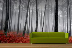 Landscape PVC Wallpaper