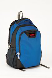 3 Compartment Plain School Backpack