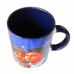 Blue Designer Mug