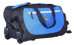 Blue and Black Travel Bags