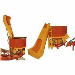Hydraullic Hopper Pan Mixer