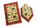 Hand Block Print Table Mats & Napkins