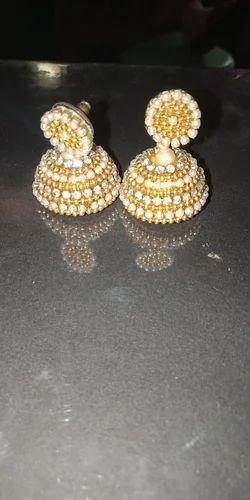 4cadc590669 Pearl Handmade Jhumkas