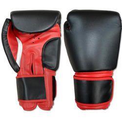 PU红色,黑色多尺寸拳击手套,尺寸:4至16盎司
