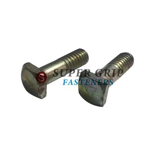 Half Thread Brass Square Bolt, Features: Rust Proof, Size: 2 Mm To 8 Mm