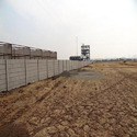 Industrial Folding Boundary Wall