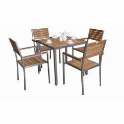 Steel Dining Table Set