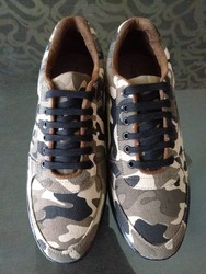 Canvas and PVC Casual Shoes M- 012, Size: 6 to 10