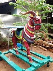 Wooden Vahanam Sculpture