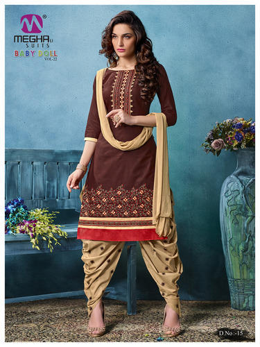 ee3d2505f1 Party Wear Designer Patiala Salwar Suit at Rs 545 /set | Punjabi ...