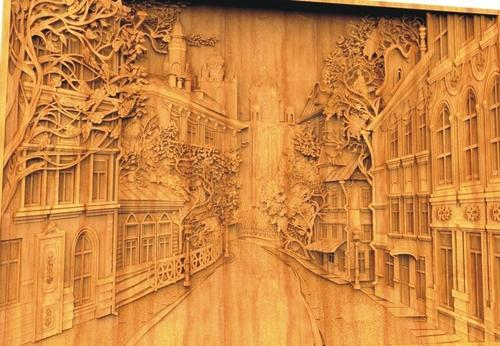 Wooden Wall Mural at Rs 760 Kotra Sultanabad Bhopal ID