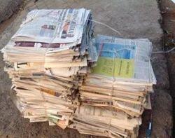 West News Paper Scrap