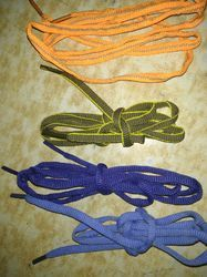Embroidered Shoe Laces