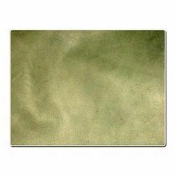 Green Sheep Wash Leather