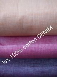 Cotton Denim Fabric (Lux)