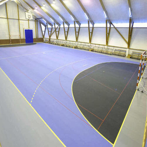 Sports Flooring Systems Qld Pty Ltd: PVC Synthetic Sports Flooring System