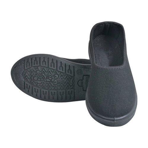 Ladies Black Canvas Shoes at Rs 150
