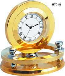 Round Table Tops Clock