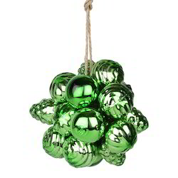 Earthen Metal Glass Ring Bunch for Christmas Decoration, Size: 1 Inch To 8 Inch