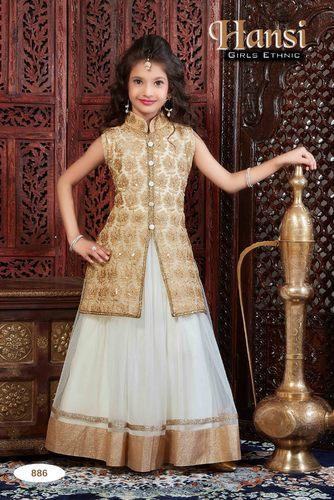 Kids Designer Party Wear Gown at Rs 1495 /piece(s) | Kids Gown | ID ...
