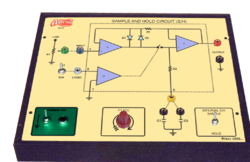 Sample and Hold Circuit ( S / H )Trainer
