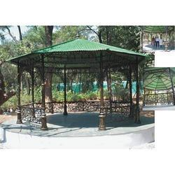 Cast Iron Garden Gazebo