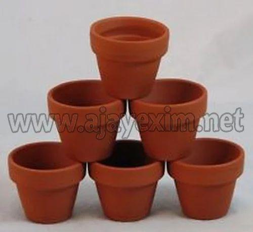 Red Custom Shape Clay Flower Pots & Red Custom Shape Clay Flower Pots Rs 2550 /carton A J A Y E X I M ...