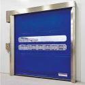 Blue Mild Steel High Speed Industrial Doors