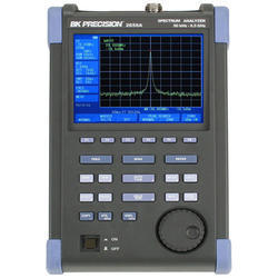 3.3 GHz Color Spectrum Analyzer