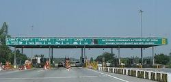 Toll Plaza board