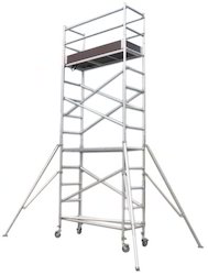 Single Width Tower Scaffold Without Stairway For Rental
