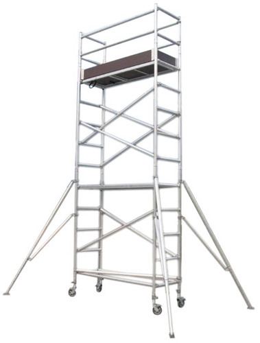Single Width Aluminium Mobile Tower Scaffold Without