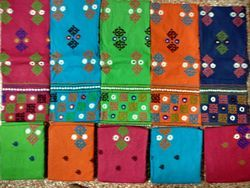 Bandhani Embroidery Dress Material