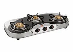 Three Burner C Model Gas Stove
