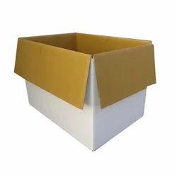Cardboard Bio-degradable HDPE Corrugated Box